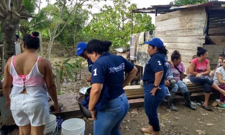 Damnificados en Apartadó, recibieron apoyo de fundación